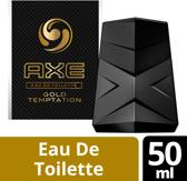 Axe gold temptation - 50ml - Eau de toilette
