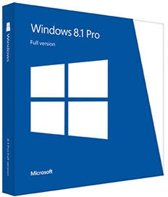 Microsoft Windows 8.1 Pro / Nederlands / 1 Licentie / USB 3.0 installatie