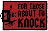 AC/DC FOR THOSE ABOUT TO KNOCK