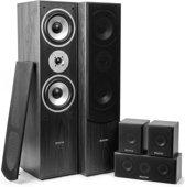 SkyTronic Thuis bioscoop speaker systeem - Zwart - 5 delig