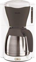Philips Viva HD7544/56 - Koffiezetapparaat - Wit/grijs