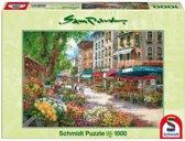 Schmidt Puzzel - Park Parijse Bloemenmarkt