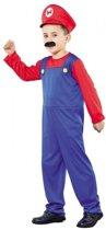 Voordelig Super Mario kostuum voor jongens 110-122 (4-6 jaar)