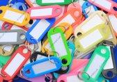 Sleutellabels kleurassorti - 200 stuks