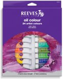 Reeves olieverf set 24 tubes