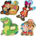 Jake & The Neverland Pirates Foam - Badpuzzel