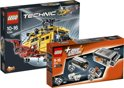 LEGO Technic bundel: Helikopter 9396 + Power Functies Tuningset 8293