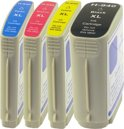HP 940XL inktcartridge multipack zwart+kleuren 3 sets Cartridge