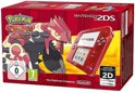 Nintendo 2DS Handheld Console + Pokemon Omega Ruby - Transparant Rood 2DS Bundel