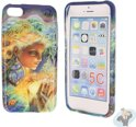 iPhone 5C Special Silicon Case Hoesje - Enchanted Woman