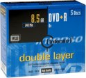 DVD+DL 8x JC 8,5GB Intenso 5St