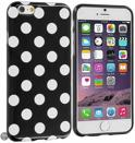 Movizy Polkadot iPhone 6 cover - zwart