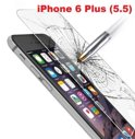 Phonecompleet.nl - iPhone 6 Plus Glazen Screen protector Tempered Glass 2.5D 9H (0.3mm)