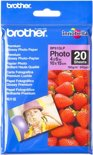 Brother Fotopapier - 10x15cm / 190g/m / 20 vellen