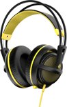 SteelSeries Siberia 200 Gaming Headset Proton Yellow - PC + PlayStation 4 + MAC + Xbox One + PlayStation 3