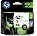 62XL inktcartridge drie kleuren high capacity 1-pack