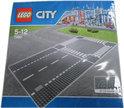LEGO City Rechte Wegenplaten en Kruising - 7280