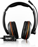 Turtle Beach Ear Force Kilo Call Of Duty: Black Ops 2 Wired Stereo Gaming Headset - Zwart/Oranje (PS3 + PS4 + Xbox 360 + PC + Mac)