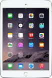 Apple iPad Mini 3 (4G) - Wit/Zilver -  64GB - Tablet
