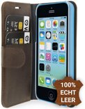 Valenta - Booklet Classic Luxe - iPhone 5c - vintage brown
