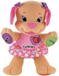 Fisher-Price Leerplezier Love to Play Puppy - Knuffeldier