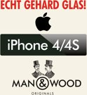 Screenprotector / Schermbescherming ECHT GEHARD GLAS (Tempered Glass) - iPhone 4/4S