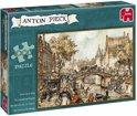 Anton Pieck Koets Op De Brug - Puzzel - 1000 stukjes