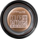 Maybelline Eyestudio Color Tattoo - 35 On and On Bronze - Bruin - Oogschaduw