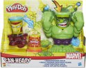 Play-Doh Smashdown Hulk en Iron Man - Marvel Can-heads - Klei