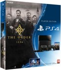 Sony PlayStation 4 Console 500GB + 2 Wireless Dualshock 4 Controllers + The Order: 1886 + Camera - Zwart PS4 Bundel