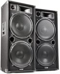 SkyTec MAX215 disco speakerset 2x 15
