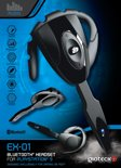 Gioteck EX-01 Bluetooth Headset Zwart PS3