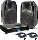 Power Dynamics PDA-10 Speaker set 1500 Watt