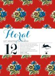 Gift wrapping paper book - Floral Volume 11