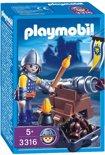 Playmobil Konings Kanonnier - 3316