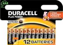 Duracell Plus Power AAA Alkaline Batterijen 12x Pak