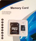Micro SD Card 128GB Class 10 met SDHC Adapter voor Smartphone, Tablet, Digitale Camera