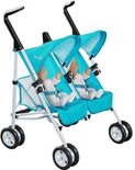 Silver Cross junior collection - twin buggy duo poppenwagen