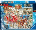 Ravensburger The Christmas Farm - Puzzel - 1000 Stukjes