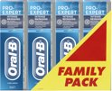 Oral-B Pro-Expert Intense Reiniging - 4 x 75 ml - Tandpasta