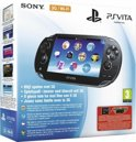 Sony PlayStation Vita Handheld Console WiFi + 3G + Motorstorm RC Download Voucher + Nederlandse 3G Simkaart + 4GB Memory Card - Zwart PS Vita Bundel