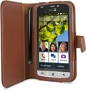 Doro Bookstyle Case Liberto 820 Brown (incl. stylus)