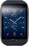 Samsung Gear S smartwatch - Zwart/Blauw met siliconen band