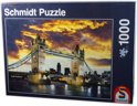 Schmidt Puzzel - Tower Bridge London - 1000 Stukjes