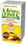 More Than A Multiple, Multivitamine Formule (120 Tabletten) - American Health