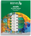 Reeves acrylverf set 24 tubes