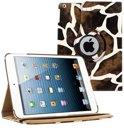 Ipad air 5 smart 360 graden hoes case dieren Giraffe