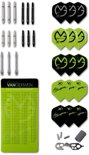 Michael van Gerwen dart accessoire set - shafts,flights,reparatie