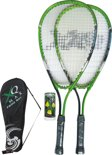 XQ Max F600 - Speed Badminton Set -2 rackets - Groen