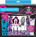 Monster High Fashion Sketch Portfolio